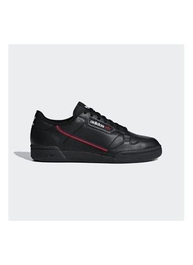 adidas Adidas Erkek Günlük Spor Ayakkabı G27707 Contınental 80 Siyah